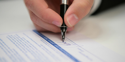Weiterbildung und Vertragsabschluss