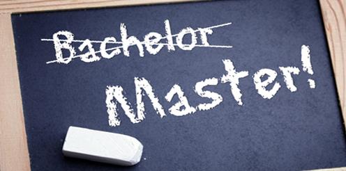 Der Bachelor in greifbarer Nähe und direkt weiter mit dem Master?
