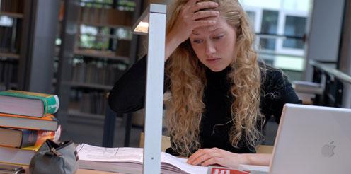Probleme im Studium - das Deutsche Studentenwerk hilft