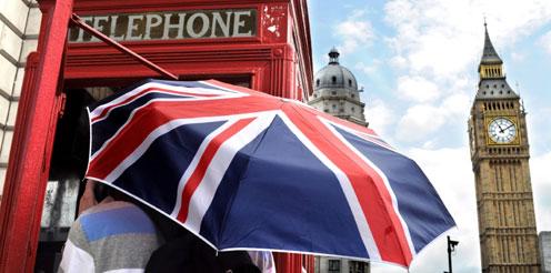 Bewerbung in UK