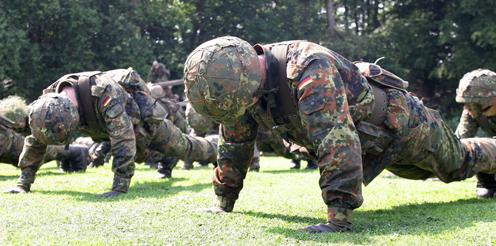Hörsaal statt Bootcamp – ein Studium bei der Bundeswehr