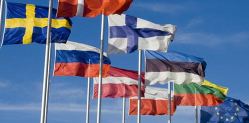 Verschiedene Flaggen