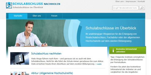 Neues Portal informiert über Schulabschlüsse