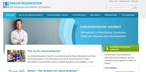 Karrierewegweiser zum Industriemeister online