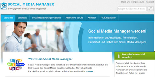 Social Media Manager - Alle Infos zu Weiterbildung und Beruf
