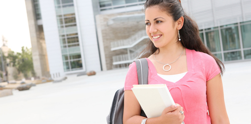 Studentin plant ihre Karriere
