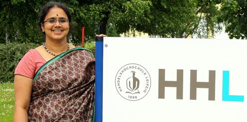 Frauen an Business Schools. HHL-Professorin Vasanthi Srinivasan im Financial-Times-Portrait