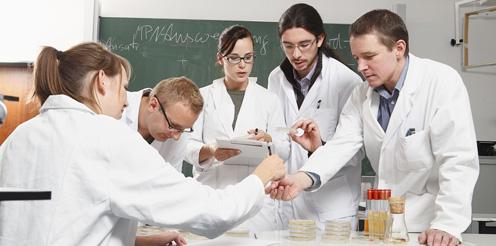 Studierende der SRH Riedlingen