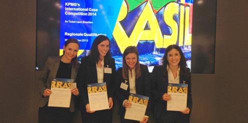 KPMG-Case-Challenge 2014, HHL Team der Frauen