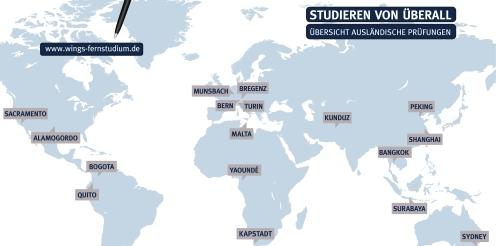 Mobil und flexibel: Fernstudium während eines Auslandsaufenthaltes