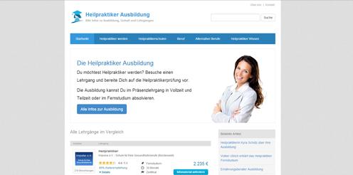 Neues Portal informiert über die Heilpraktiker Ausbildung