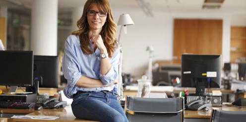 Büroarbeitsplätze einladend und gesund gestalten
