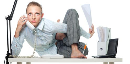 Stress am Arbeitsplatz belastet immer mehr Arbeitnehmer