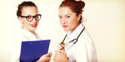 Medizin Studenten